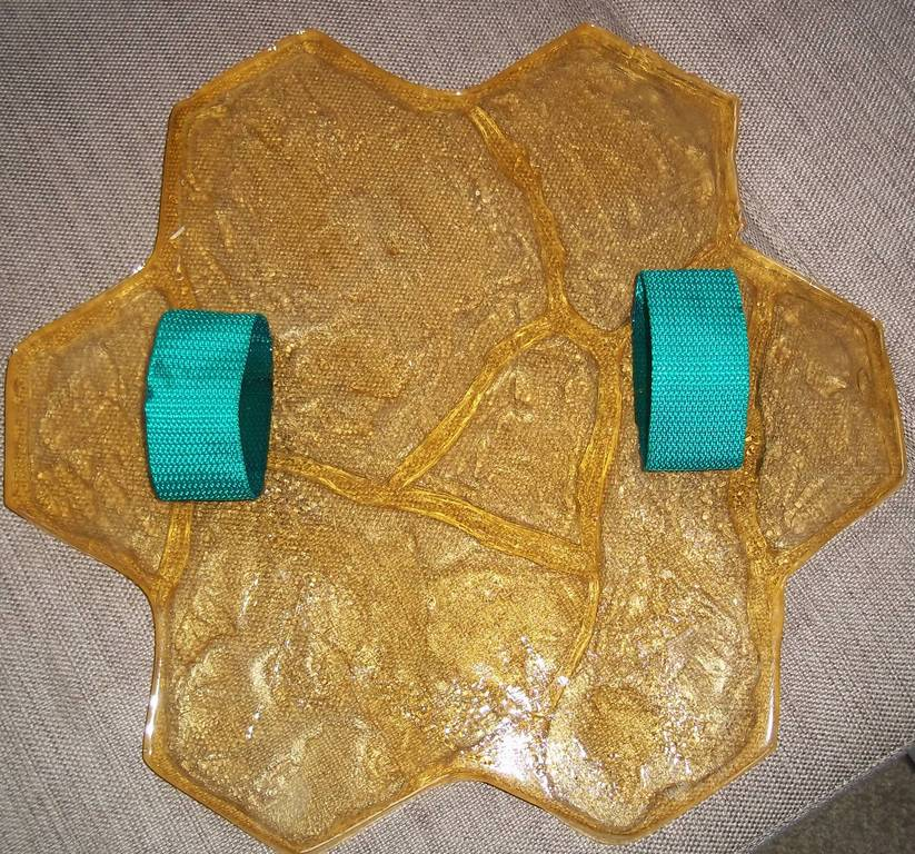 Полиуретановый штамп для штукатурки